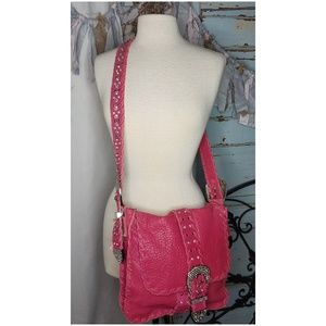 Charm and Luck genuine leather crossbody